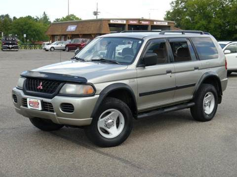 2001 Mitsubishi Montero Sport for sale at MOTORS N MORE in Brainerd MN