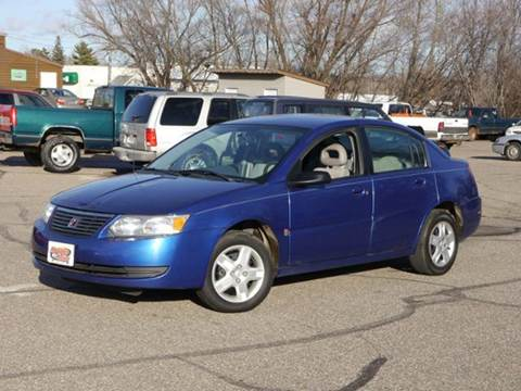 2006 Saturn Ion for sale at MOTORS N MORE in Brainerd MN