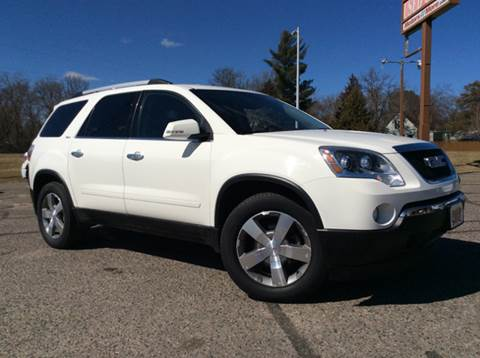2011 GMC Acadia for sale at MOTORS N MORE in Brainerd MN