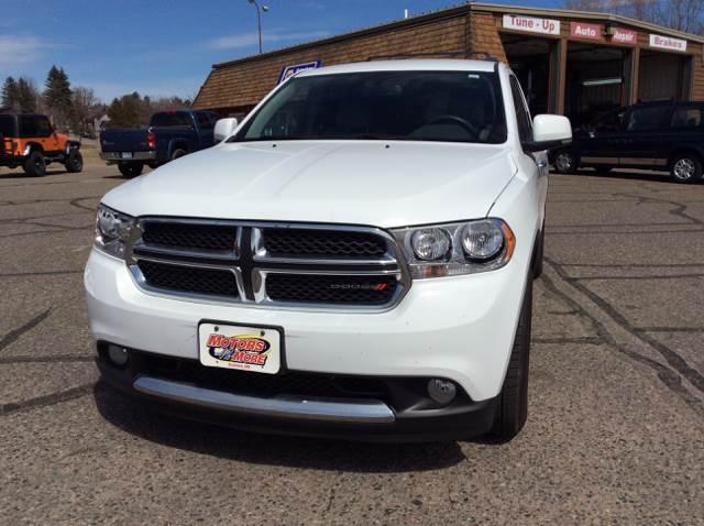 2013 Dodge Durango for sale at MOTORS N MORE in Brainerd MN