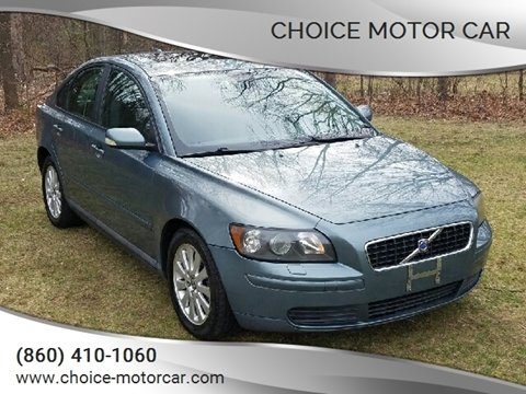 2005 Volvo S40 2.4i for sale at Choice Motor Car in Plainville CT