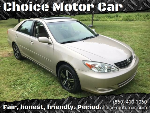 2003 Toyota Camry SE V6 for sale at Choice Motor Car in Plainville CT