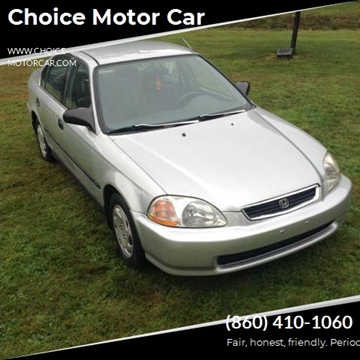 1996 Honda Civic for sale at Choice Motor Car in Plainville CT