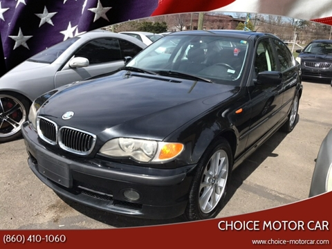 2003 BMW 3 Series 330xi for sale at Choice Motor Car in Plainville CT