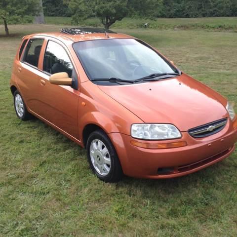 2004 Chevrolet Aveo 4dr Sedan In Plainville Ct Choice Motor Car
