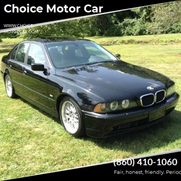 2002 BMW 5 Series for sale at Choice Motor Car in Plainville CT