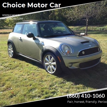 2008 MINI Cooper S for sale at Choice Motor Car in Plainville CT