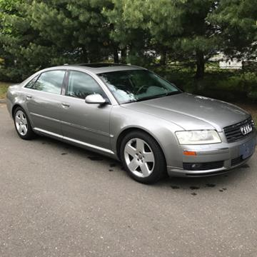 2004 Audi A8 L for sale at Choice Motor Car in Plainville CT