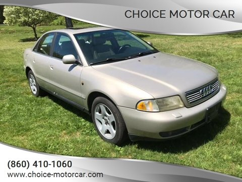 1998 Audi A4 for sale at Choice Motor Car in Plainville CT