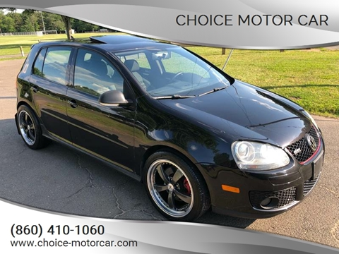 2007 Volkswagen GTI for sale at Choice Motor Car in Plainville CT