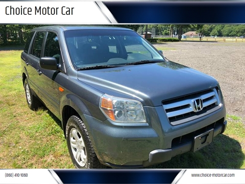 2006 Honda Pilot for sale at Choice Motor Car in Plainville CT
