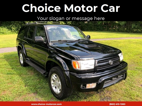Great 2000 Toyota 4Runner SR5