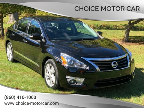 2015 Nissan Altima for sale at Choice Motor Car in Plainville CT