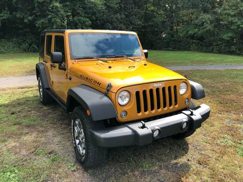 2014 Jeep Wrangler Unlimited for sale at Choice Motor Car in Plainville CT