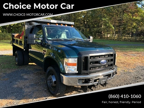 2009 Ford F-350 Super Duty for sale at Choice Motor Car in Plainville CT