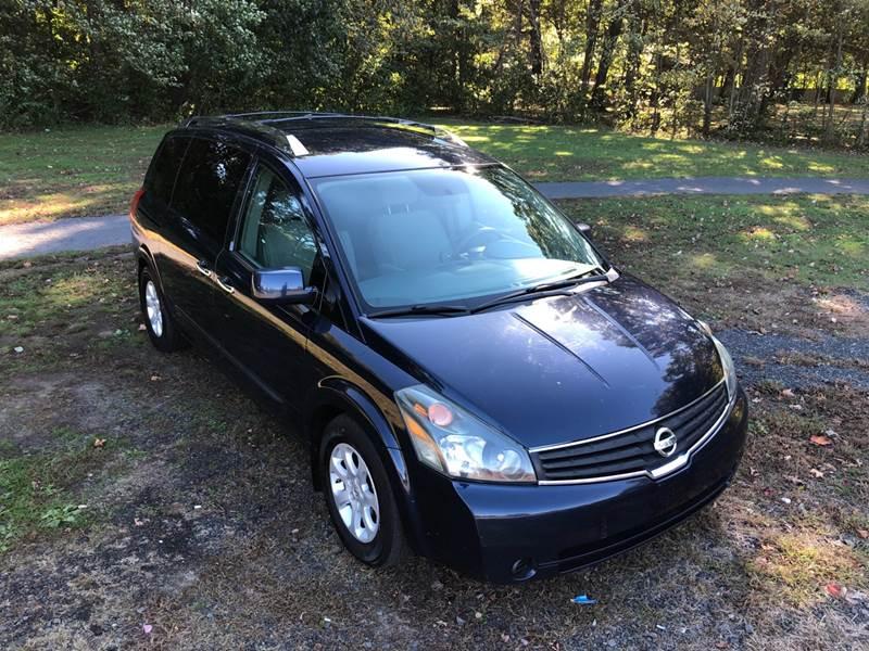 2008 Nissan Quest 35 S 4dr Mini Van In Plainville Ct Choice Motor Car