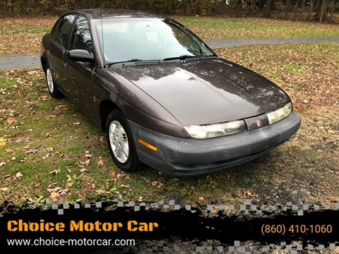 1999 Saturn S-Series for sale at Choice Motor Car in Plainville CT