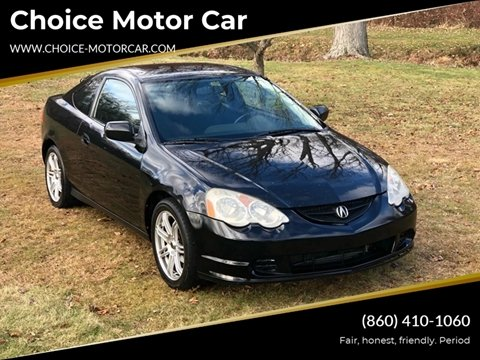 2002 Acura RSX for sale at Choice Motor Car in Plainville CT