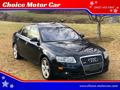 2008 Audi A6 for sale at Choice Motor Car in Plainville CT
