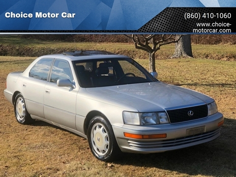 1993 Lexus LS 400 for sale at Choice Motor Car in Plainville CT