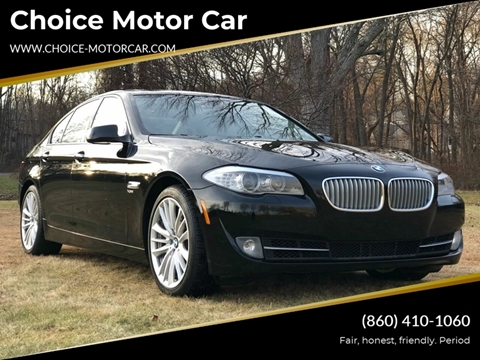 2011 BMW 5 Series for sale at Choice Motor Car in Plainville CT