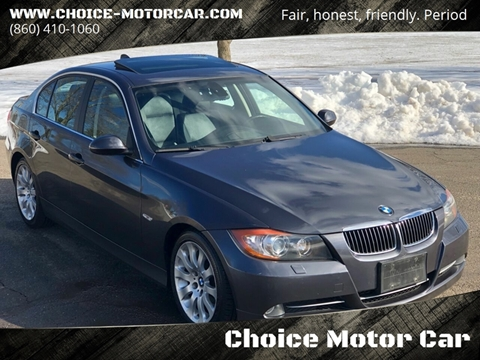 2007 BMW 3 Series for sale at Choice Motor Car in Plainville CT
