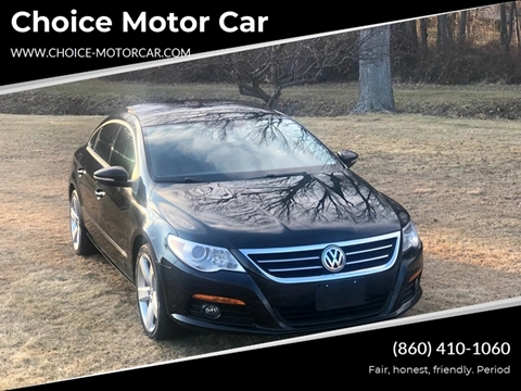 2009 Volkswagen CC for sale at Choice Motor Car in Plainville CT