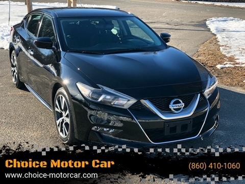 2017 Nissan Maxima for sale at Choice Motor Car in Plainville CT