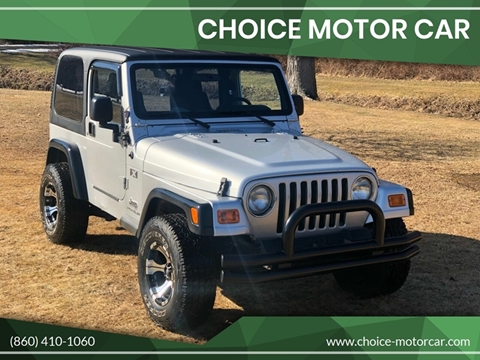 2004 Jeep Wrangler for sale in Plainville, CT
