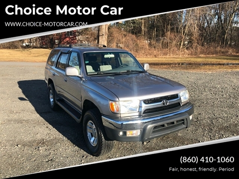 2002 Toyota 4Runner for sale at Choice Motor Car in Plainville CT