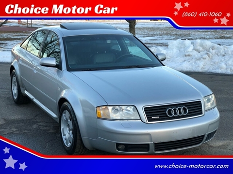 2001 Audi A6 for sale at Choice Motor Car in Plainville CT