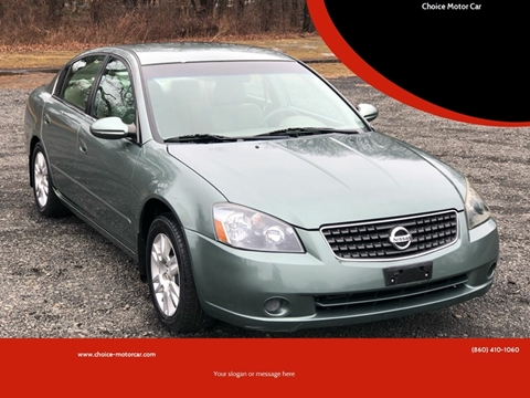 2006 Nissan Altima for sale at Choice Motor Car in Plainville CT