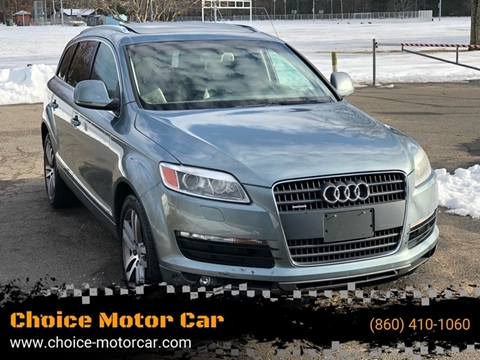 2007 Audi Q7 for sale at Choice Motor Car in Plainville CT