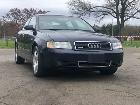 2004 Audi A4 for sale at Choice Motor Car in Plainville CT