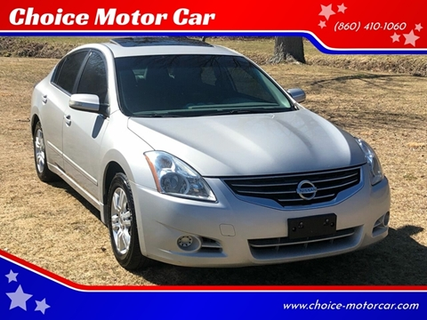 2012 Nissan Altima for sale at Choice Motor Car in Plainville CT