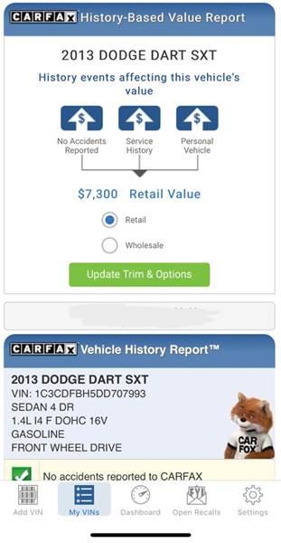 2013 Dodge Dart SXT (image 53)