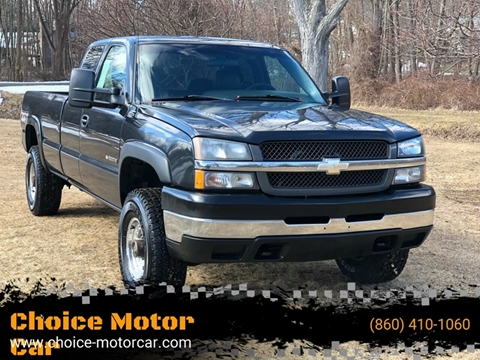 2004 Chevrolet Silverado 2500HD for sale at Choice Motor Car in Plainville CT