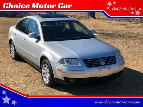 2004 Volkswagen Passat for sale at Choice Motor Car in Plainville CT