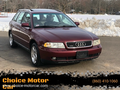 2000 Audi A4 for sale at Choice Motor Car in Plainville CT