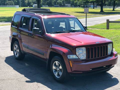 2008 Jeep Liberty Sport for sale at Choice Motor Car in Plainville CT