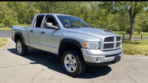 2004 Dodge Ram Pickup 1500 SLT for sale at Choice Motor Car in Plainville CT