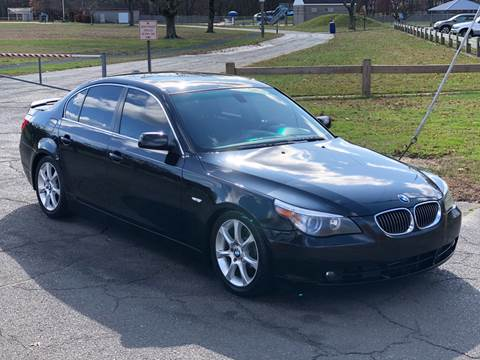 2004 BMW 5 Series 545i for sale at Choice Motor Car in Plainville CT