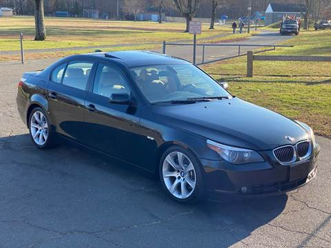 2007 BMW 5 Series 550i for sale at Choice Motor Car in Plainville CT