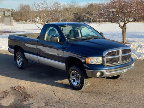 2003 Dodge Ram Pickup 1500 SLT for sale at Choice Motor Car in Plainville CT