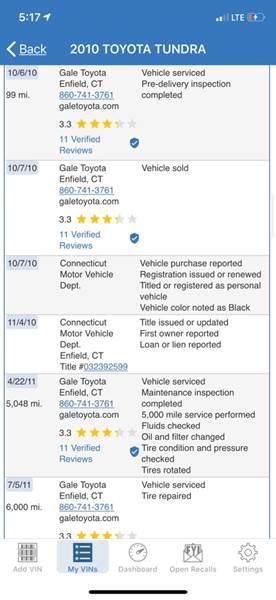 2010 Toyota Tundra Grade (image 50)