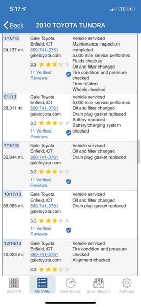 2010 Toyota Tundra Grade (image 52)