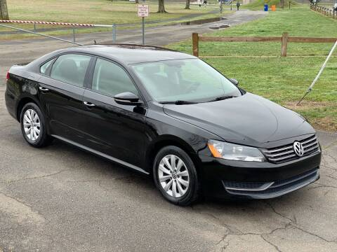 2012 Volkswagen Passat S for sale at Choice Motor Car in Plainville CT