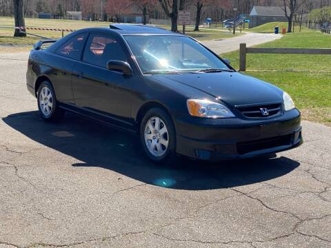 2003 Honda Civic EX for sale at Choice Motor Car in Plainville CT