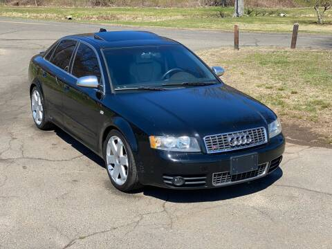 2004 Audi S4 quattro for sale at Choice Motor Car in Plainville CT