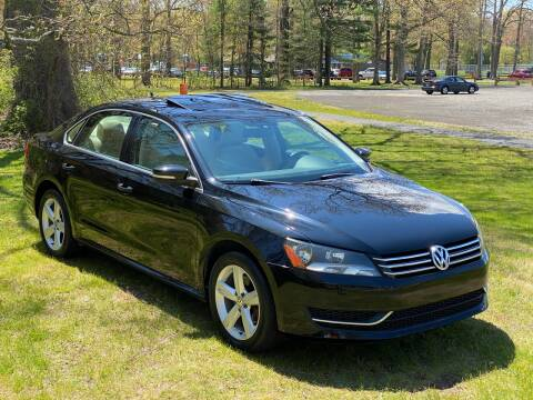 2013 Volkswagen Passat for sale at Choice Motor Car in Plainville CT